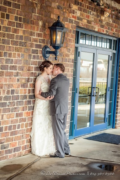 The wedding reception of Leah Cuthbert and Jason Dahlen photographed Saturday, March 14, 2015 at Dock 580. (© James D. DeCamp | http://OurDreamPhotos.com | 614-367-6366)