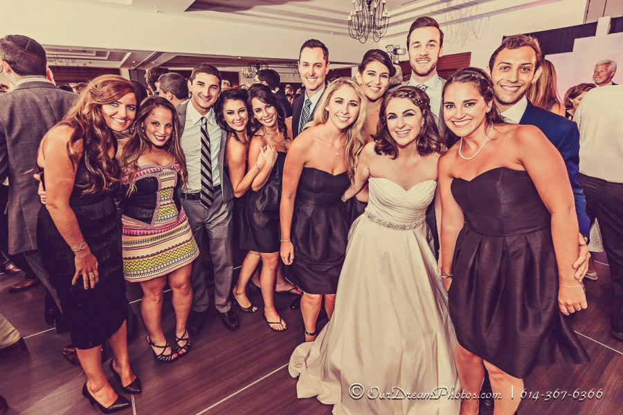 The wedding and reception of Ari Jacobs and Alec Marcantonio photographed Sunday, September 6, 2015 at the Hilton Columbus Downtown. (© James D. DeCamp | http://OurDreamPhotos.com | 614-367-6366)