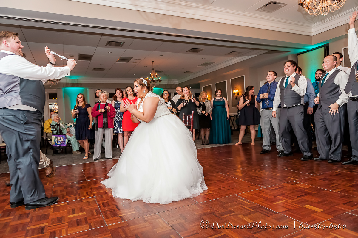The wedding reception of Taylor Greene and Patrick Dillon photographed Saturday, November 7, 2015 at Wedgewood Golf & Country Club. (© Brooke Hachat | http://OurDreamPhotos.com | 614-367-6366)
