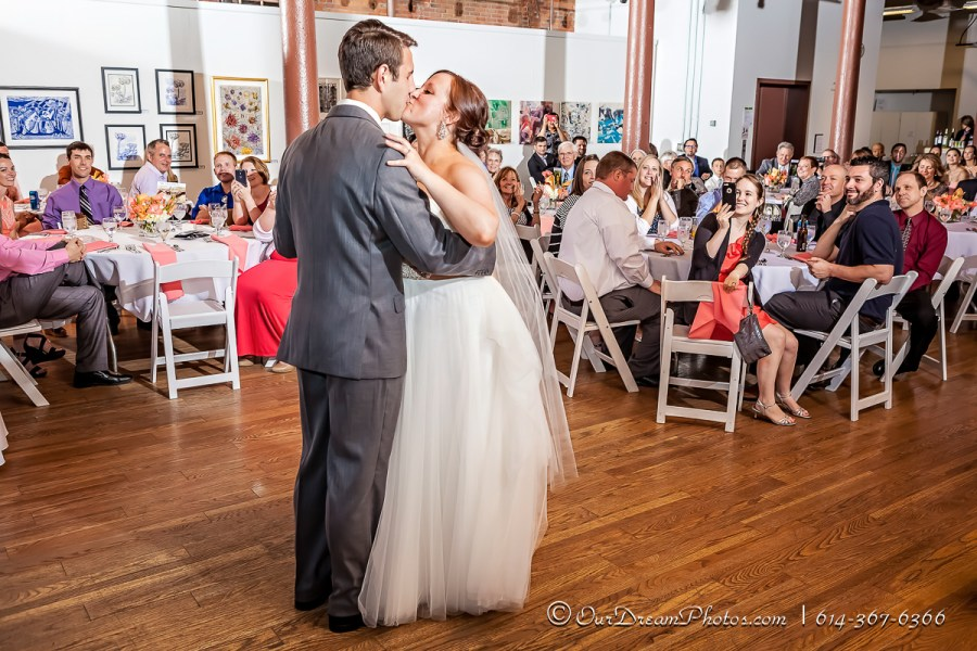 The wedding and reception of Hal Hamilton and Abby Morgan photographed Saturday, May 23, 2015 at the Columbus Cultural Arts Center. (© James D. DeCamp | http://OurDreamPhotos.com | 614-367-6366)