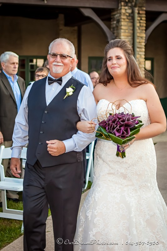 The wedding and reception of Lauren Vonville and Ross Gunvalsen photographed Saturday, October 15, 2016 at the Royal American Links Country Club. (© James D. DeCamp | http://OurDreamPhotos.com | 614-367-6366)