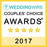 2017 Wedding Wire Couples Choice Award