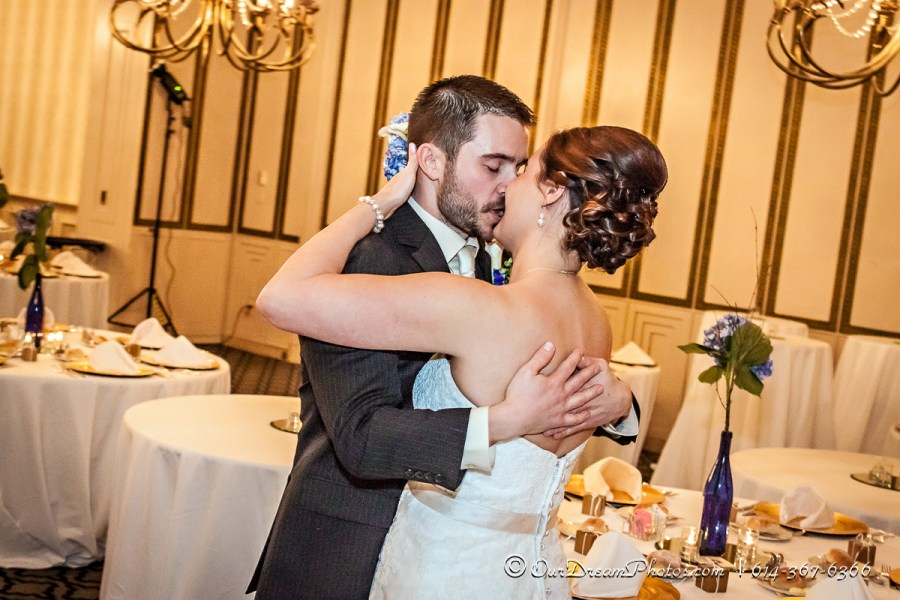 The wedding & reception of Melissa Kennedy & Dave Langton photographed Saturday, February 21, 2015 at The Athletic Club of Columbus. (© Abigail L. Grove | http://OurDreamPhotos.com | 614-367-6366)