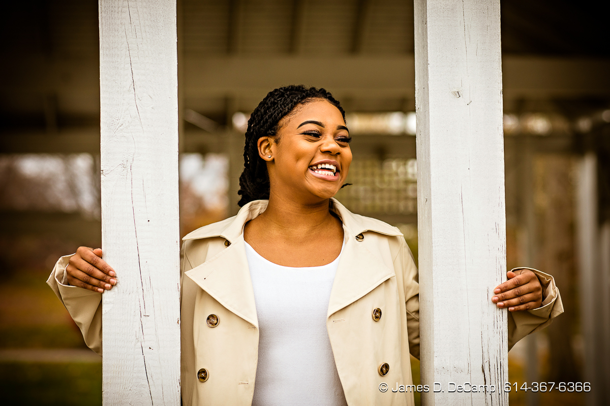 Senior session with Taylour Crutchfield photographed Sunday, November 20, 2016 at the Franklin Park Conservatory. (© James D. DeCamp   http://JamesDeCamp.com   614-367-6366)