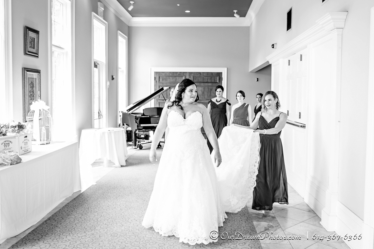 The wedding and reception of Rachel Rosenthal and Kyle Beougher photographed Saturday, August 5, 2017 at Pinnacle Golf Club in Grove City, Ohio. (© Brooke Hachet | http://OurDreamPhotos.com | 614-367-6366)