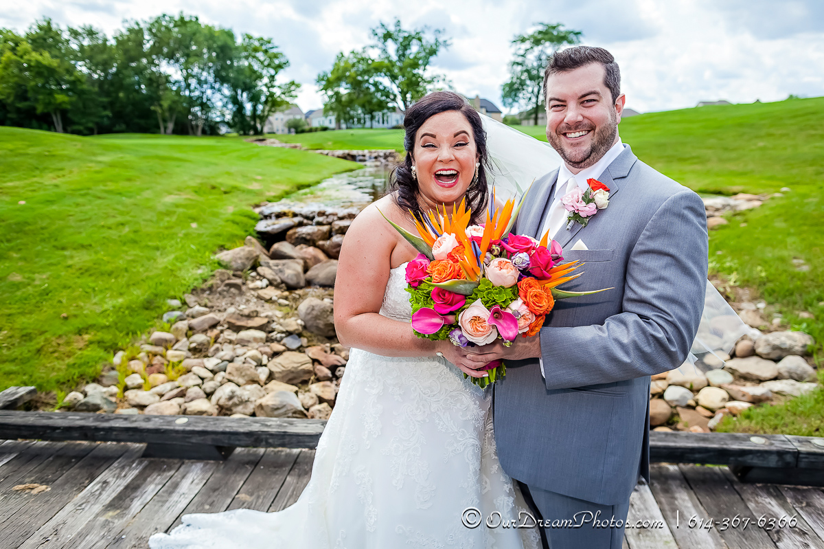 The wedding and reception of Rachel Rosenthal and Kyle Beougher photographed Saturday, August 5, 2017 at Pinnacle Golf Club in Grove City, Ohio. (© James D. DeCamp | http://OurDreamPhotos.com | 614-367-6366)