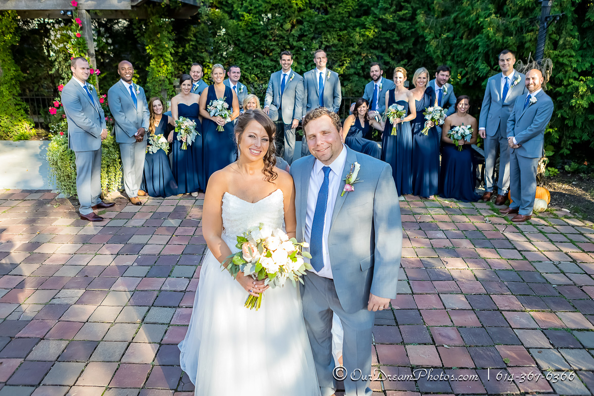 The wedding and reception of Amy Davis and Andy Ireton photographed Saturday, October 14, 2017 at Our Lady of Victory Catholic Church and the Scioto Country Club. (© James D. DeCamp | http://OurDreamPhotos.com | 614-367-6366)