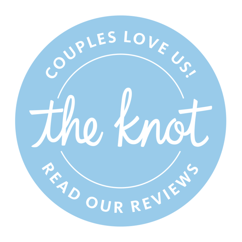 Reviewed on the Knot - Our Dream Photos by James DeCamp Photography