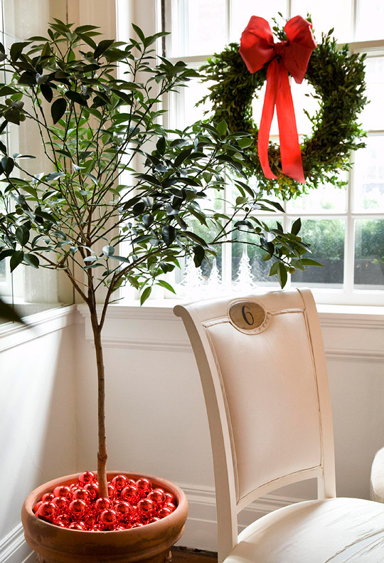 hang around chair pottery barn la z boy and a half decorating for christmas – our empty nest