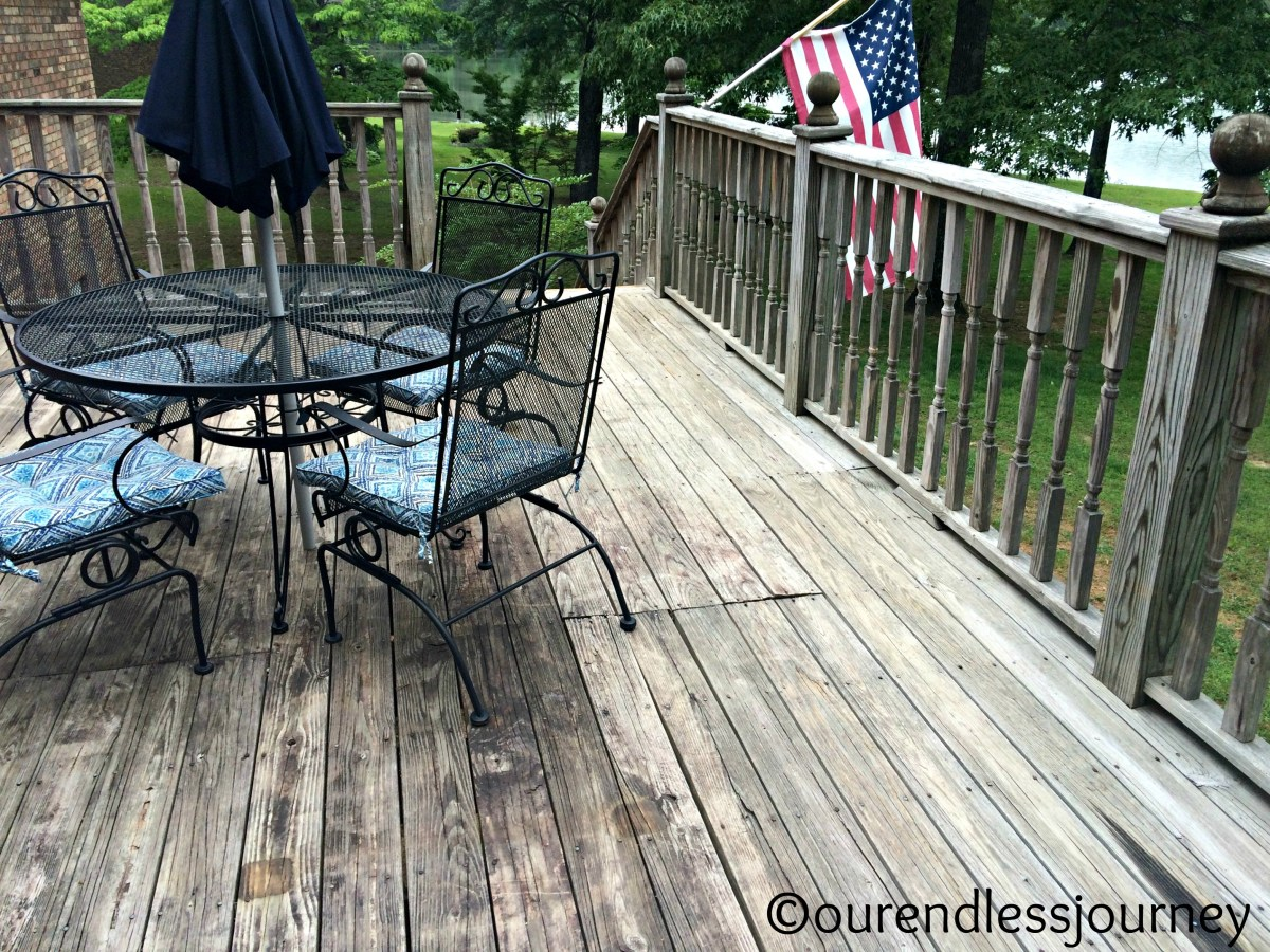 How to Make Your Deck Look New Again!