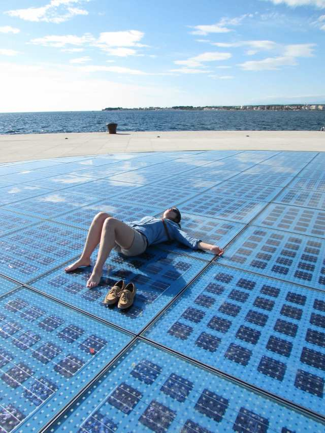 Greeting to the Sun, Zadar, Croatia