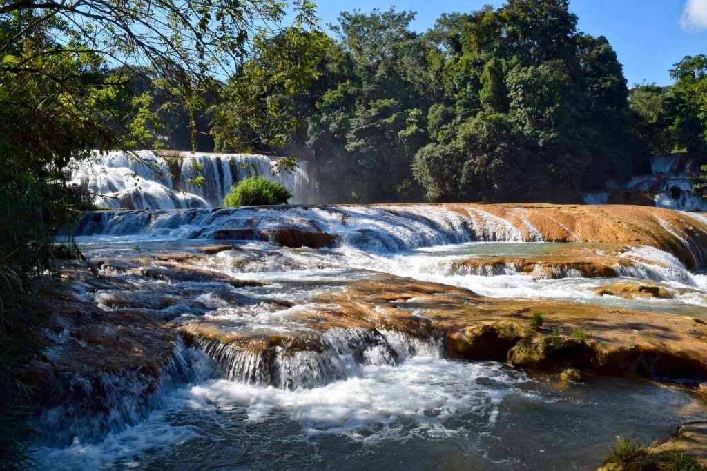 Waterfalls in Mexico: Agua Azul, Chiapas, Mexico