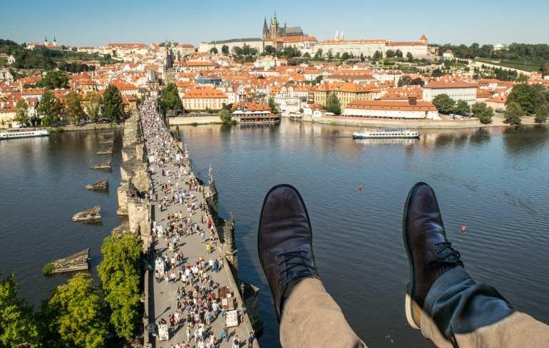 Best Viewpoints in Prague: Old Town Bridge Tower