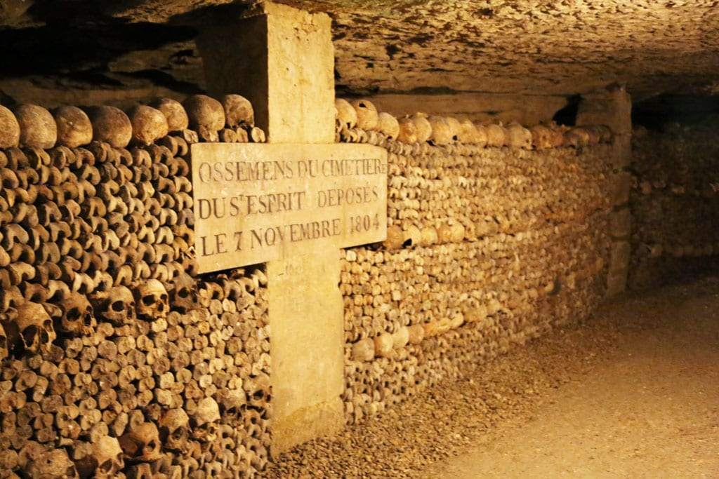 3 Days in Paris Itinerary: Catacombs