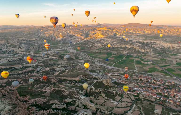 Cappadocia, Turkey Hot Air Balloons