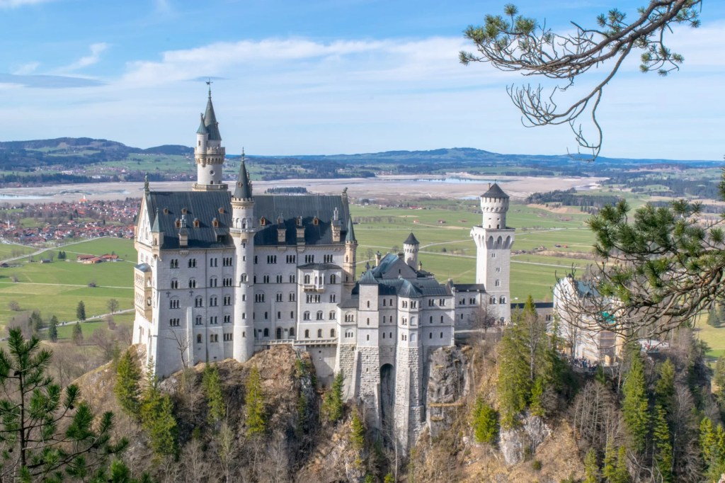 Munich to Neuschwanstein Castle Day Trip: View from Trail