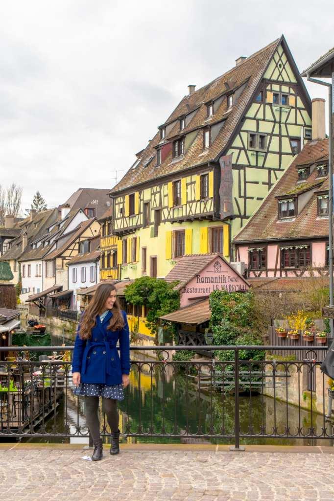 Girl in Colmar, France