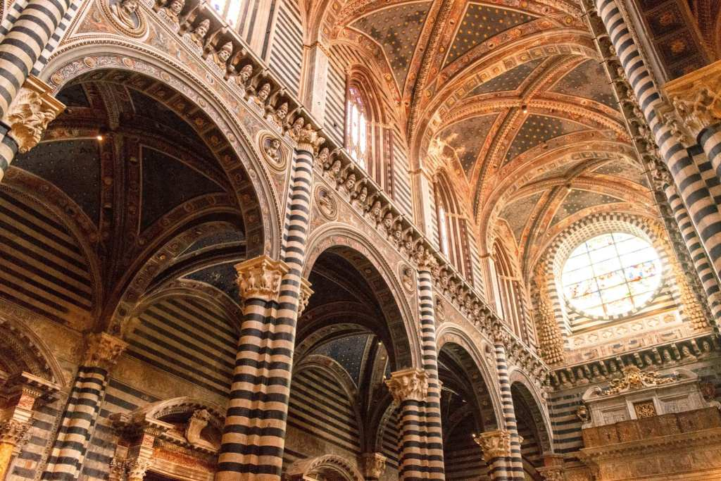 Honeymoon in Tuscany: Interior Siena Cathedral