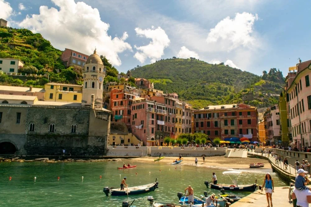 2 Weeks in Italy Itinerary: Vernazza, Cinque Terre