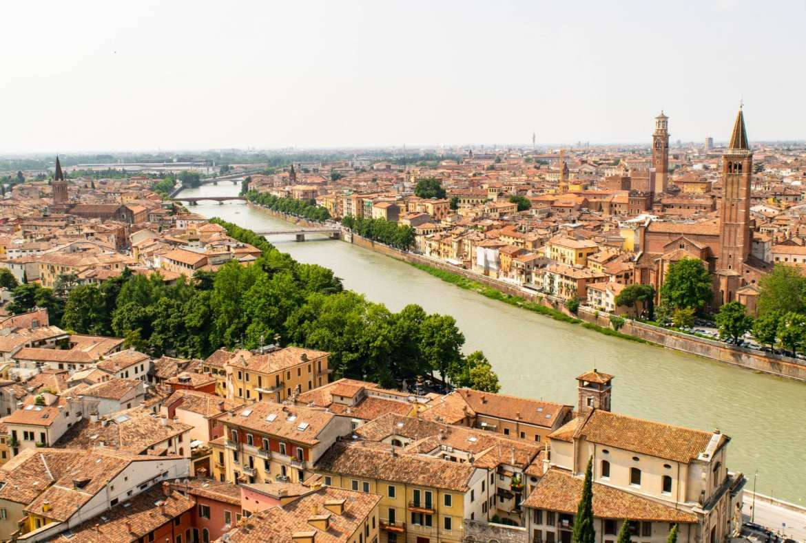Best Day Trips from Bologna: View of Verona