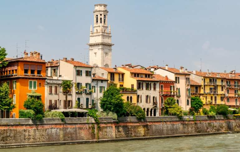 Best Day Trips from Bologna: Verona River