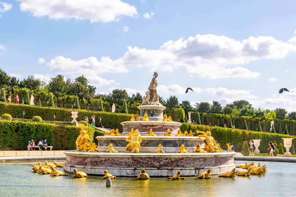Visiting Versailles: Tour the Gardens