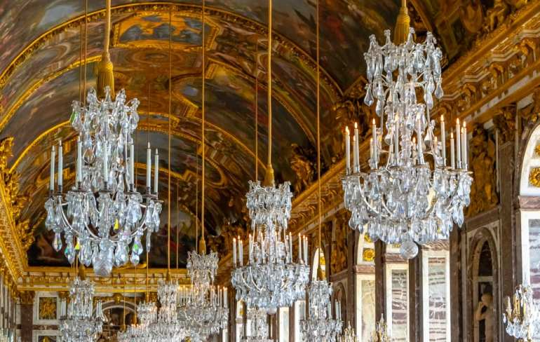 Visiting Versailles: Hall of Mirrors