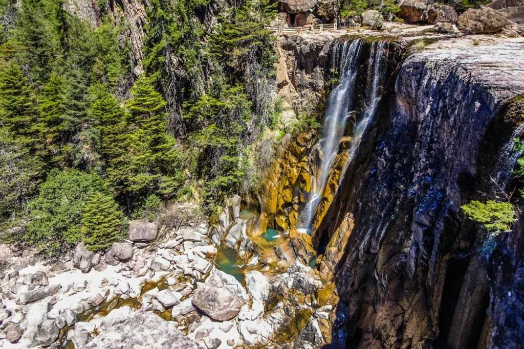 Waterfalls in Mexico: Cusarare Falls