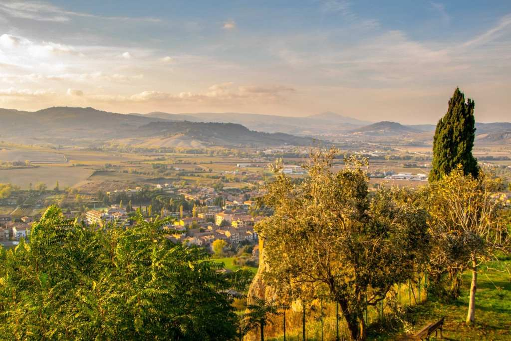 Best Things to Do in Orvieto Italy: Views of Umbrian Countryside