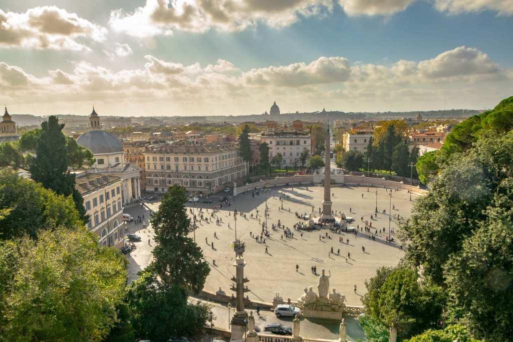 2 Days in Rome Itinerary: Piazza del Popolo