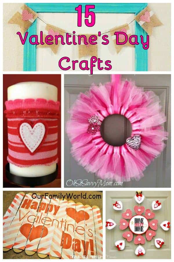 15 Easy Valentines Day Crafts Our Family World