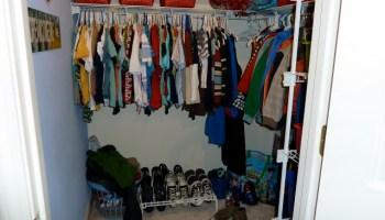 The Boys Closet Play Nook