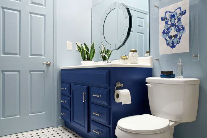 builder bathroom makeover powder room inspiration our fifth house 12201