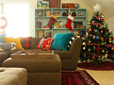 Kids Christmas Playroom