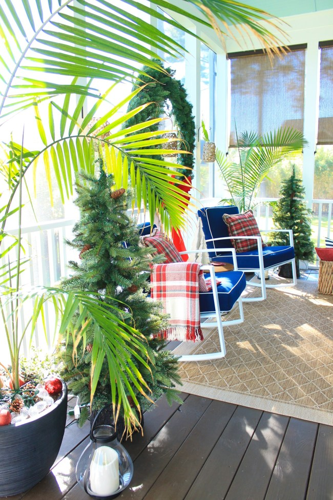 southern living christmas porch