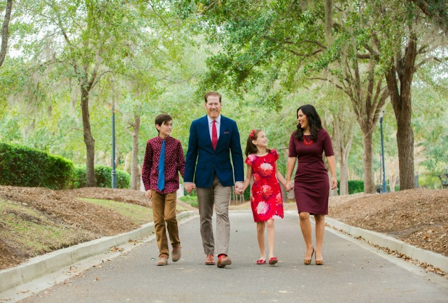 family holiday pictures