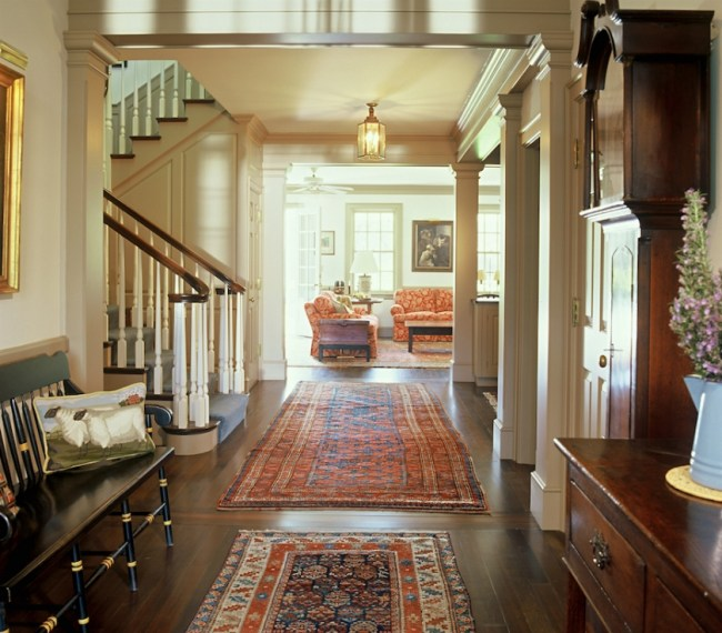Rugs in your home - WalnutHillRanchGastArchitects13