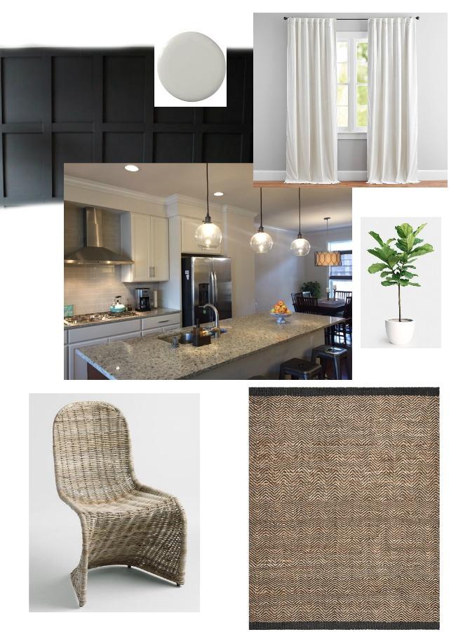 design dilemma - dining room blank wall
