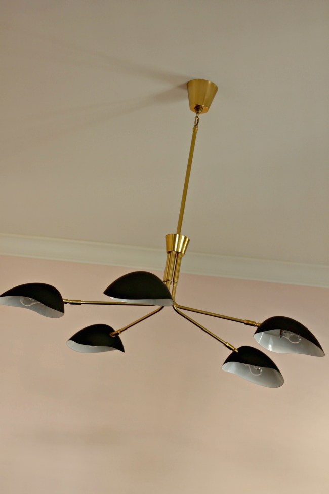 ceiling fixture - office