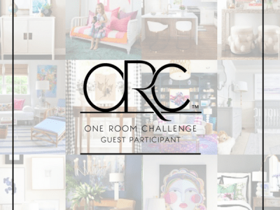 One Room Challenge – Round Two – Girls/Guest Bathroom