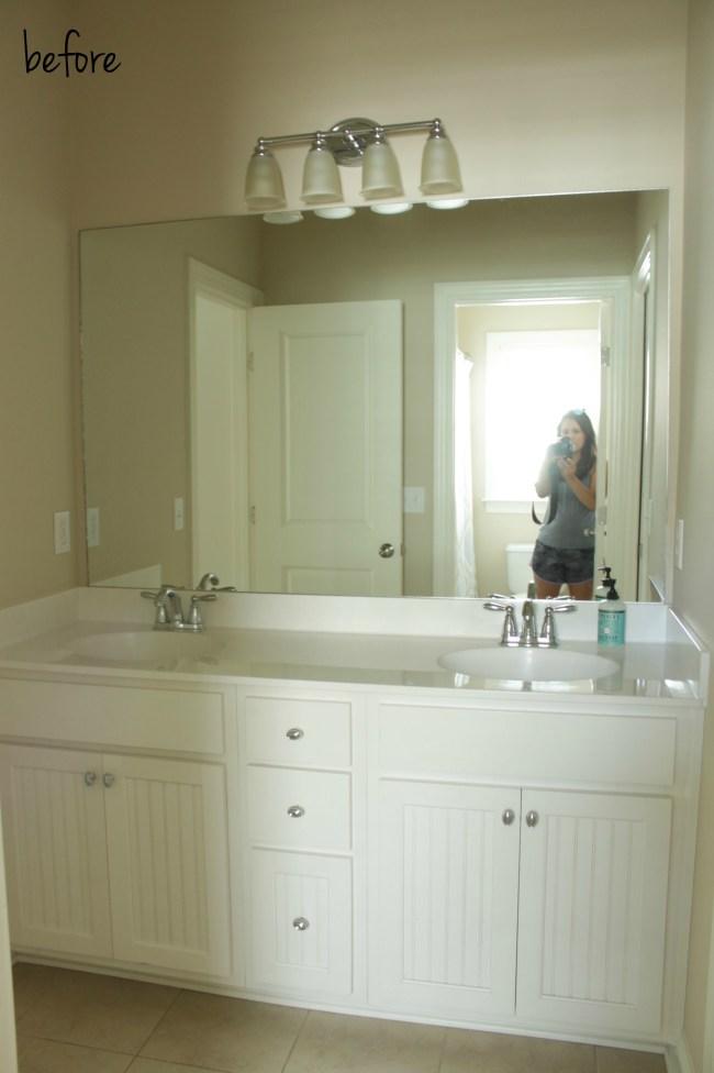 bathroom makeover - before
