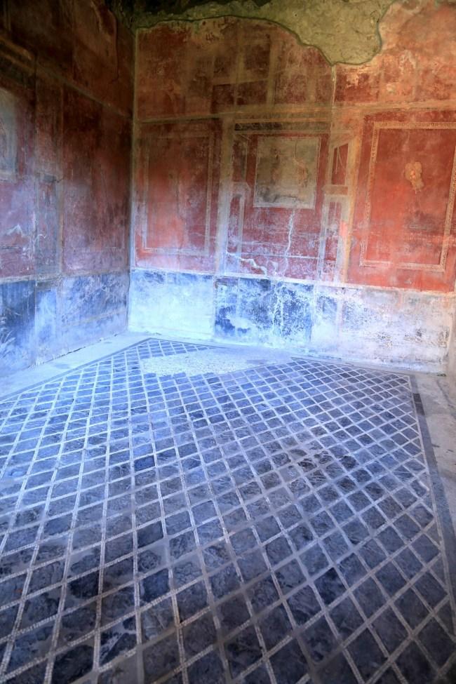 pompei mosaic floor