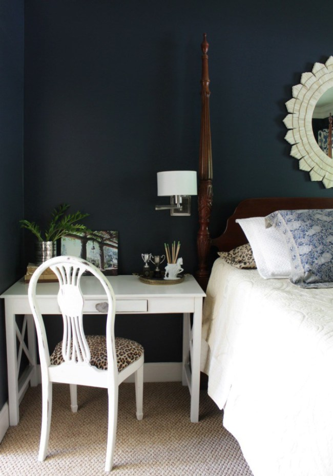 master bedroom nightstand desk