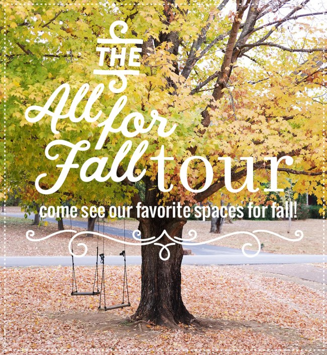all for fall home tour