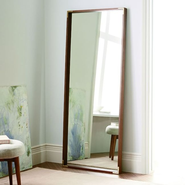west elm campaign floor mirror
