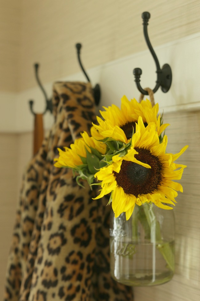 sunflowers fall home tour