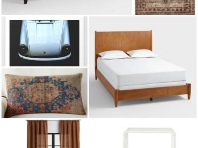One Room Challenge – Teen Boy's Room – Before & Design Plans