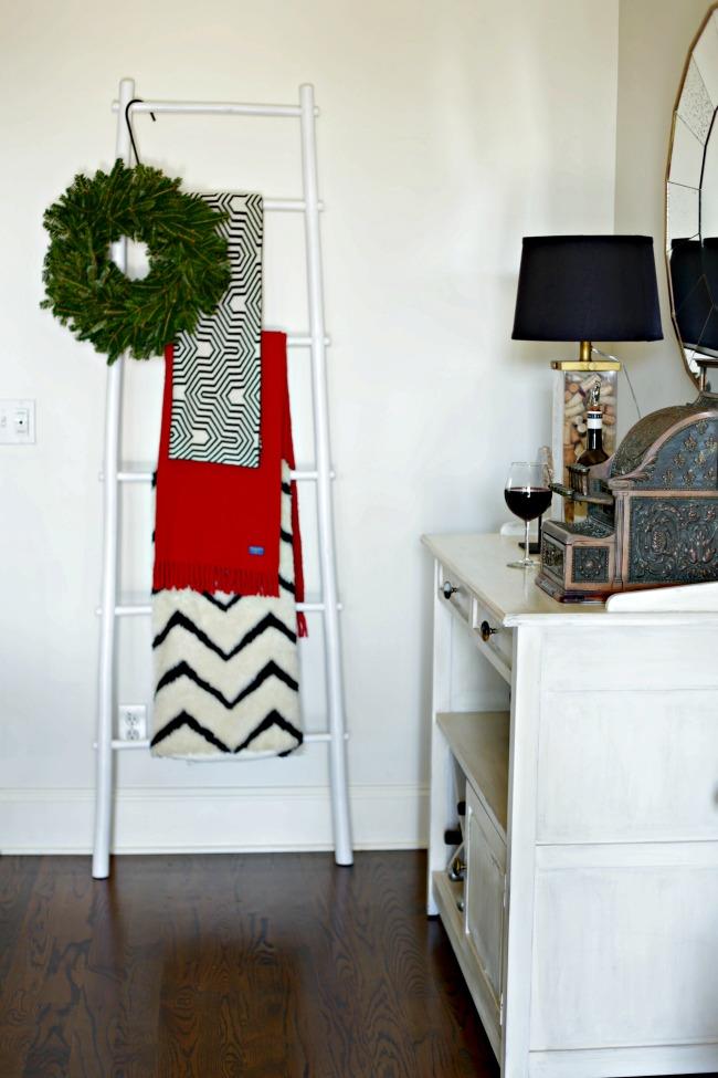 living room ladder