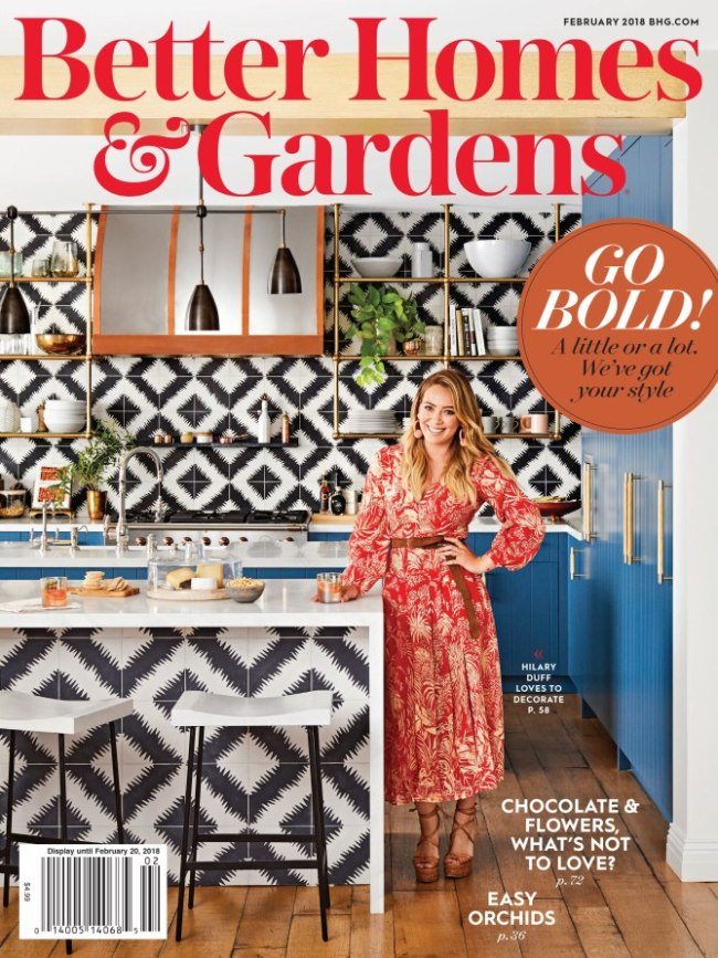 better homes and gardens hilary duff