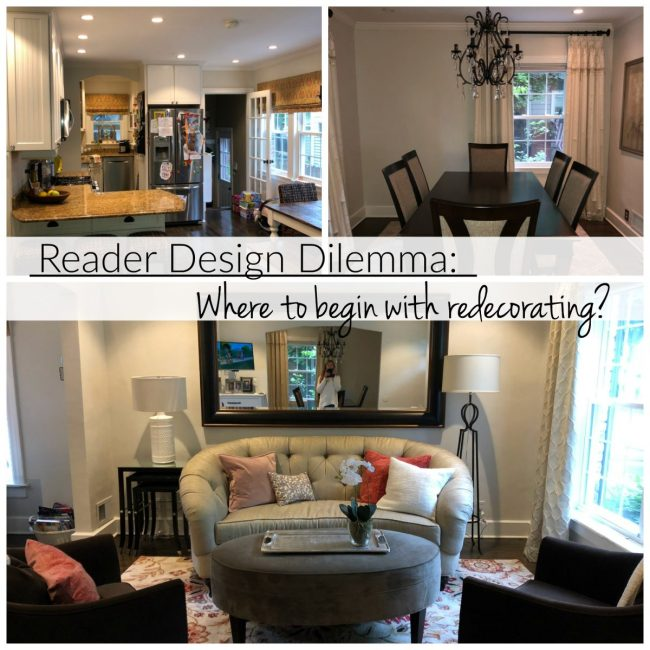 Reader Design Dilemma: Where to Begin with Redecorating